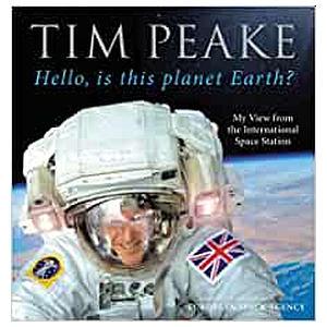 Tim Peake ISS Book