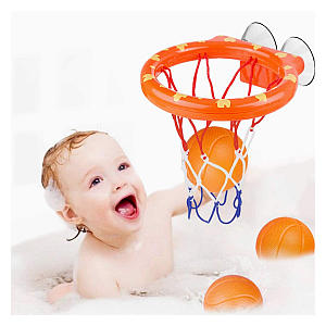 Toddler Basketball Hoop Bath Toy