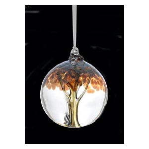 Tree of Life Glass Bauble