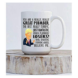 Trump Plumber Mug