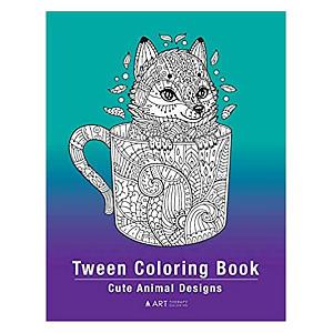 Tween Colouring Book