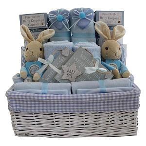 Twin Boys Gift Basket