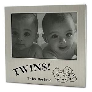 Twins Metal Photo Frame