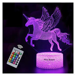 Unicorn 3D Night Light
