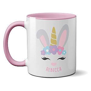 Unicorn Bunny Rabbit Mug