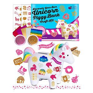 Unicorn Piggy Bank Craft Kit