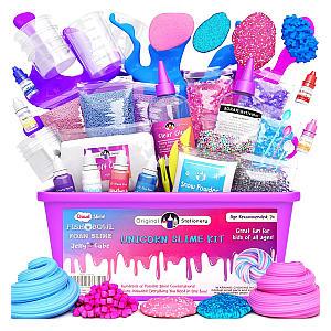 Unicorn Slime Kit Supplies