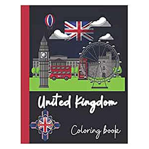 United Kingdom Colouring Book