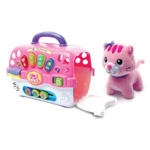 VTech Cosy Kitten Carrier Interactive Toy