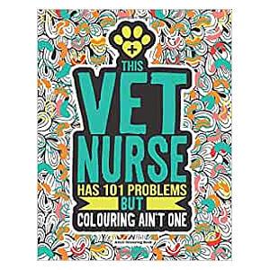 Vet Nurse Colouring Book