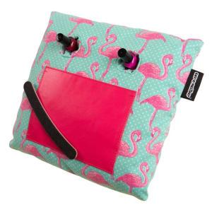 Vibrant Flamingo Manicure Cushion