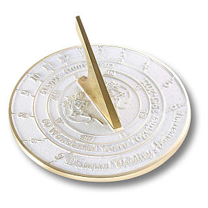 Wedding Anniversary Sundial