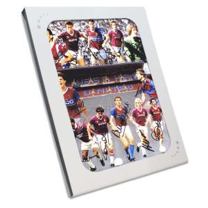 West Ham 1986 Signed Photo
