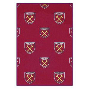 West Ham Crest Blanket