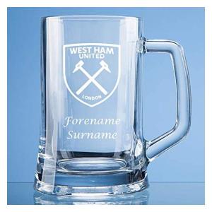 West Ham Personalised Pint Tankard
