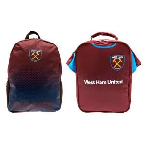 West Ham School Bag Set