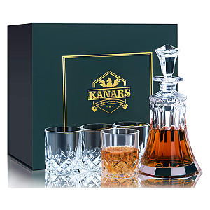 Whisky Decanter and Glass Set