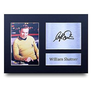 William Shatner Autograph Photo