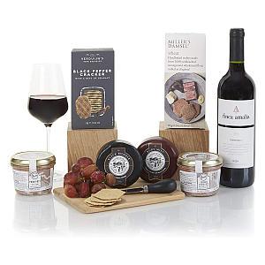 Wine, Cheese & Pate Hamper