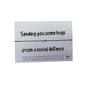 Wish Bracelet Hugs From A Distance