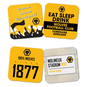 Wolves FC Coasters