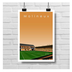 Wolves Stadium Print