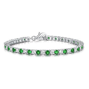 Women´s Tennis Bracelet with Emeralds