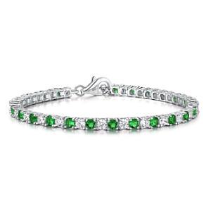 Women´s Tennis Bracelet with Emeralds