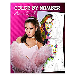 Ariana Grande Colour By Number