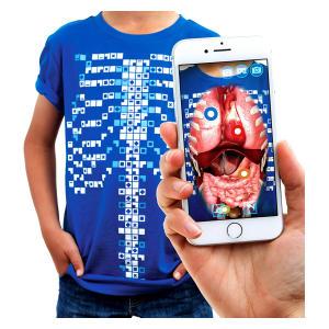 Augmented Reality Anatomy T-Shirt