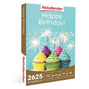 Birthday Gift Experience Voucher