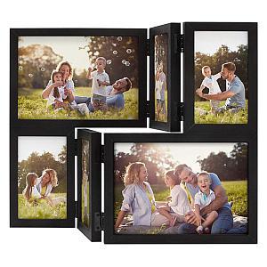 Black Collage Family Frame