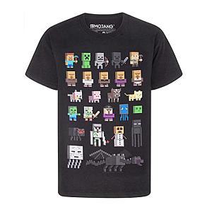 Black Minecraft T-Shirt