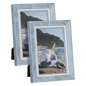 Blue Coastal Photo Frame
