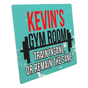 Customised Gym Room Sign