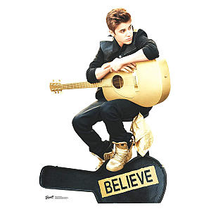 Cut Out of Justin Bieber Believe