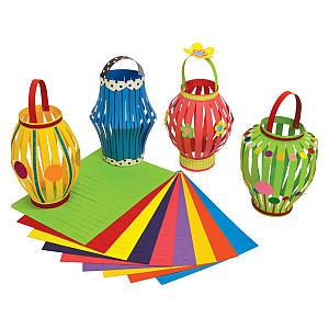 Diwali Card Lantern Making