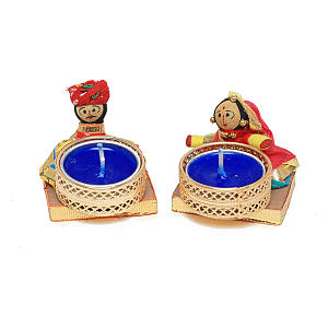 Diwali Doll Candle Stands