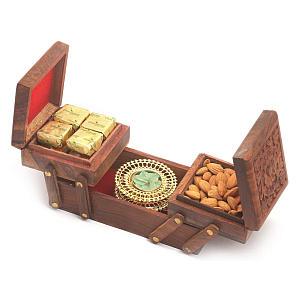 Diwali Jewellery Box with Sweets