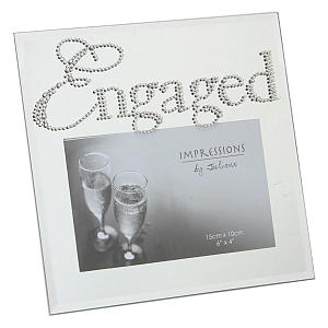 Engaged Photo Frame