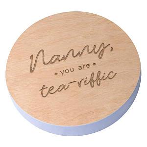 Engraved Nanny Coaster