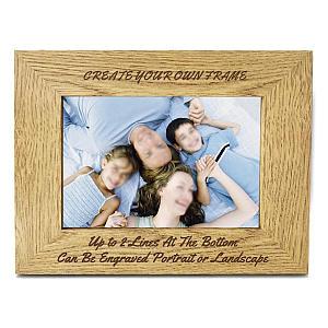 Engraved Personalised Frame