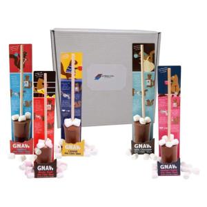 5 Flavoured Hot Chocolate Stirrers