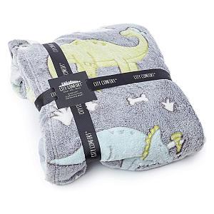 Fleece Dinosaur Blanket