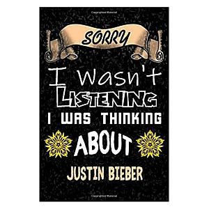 Funny Justin Bieber Notebook