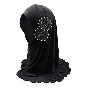 Girls Flower Hijab