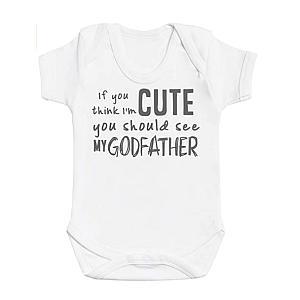 Godfather Baby's Bodysuit