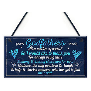 Godfather Plaque