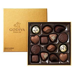 Gold Chocolate Box
