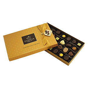 Gold Chocolate Discovery Box